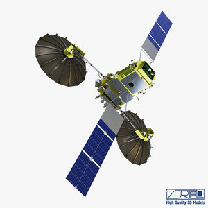 3D artificial satellite loutch 5v