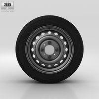 hyundai wheel 3D model
