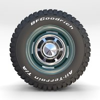 wheel goodrich tire 2 model
