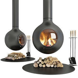 fireplace focus 3D
