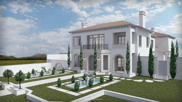 3D studio newport mansion