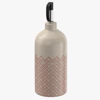 3D pour bottle