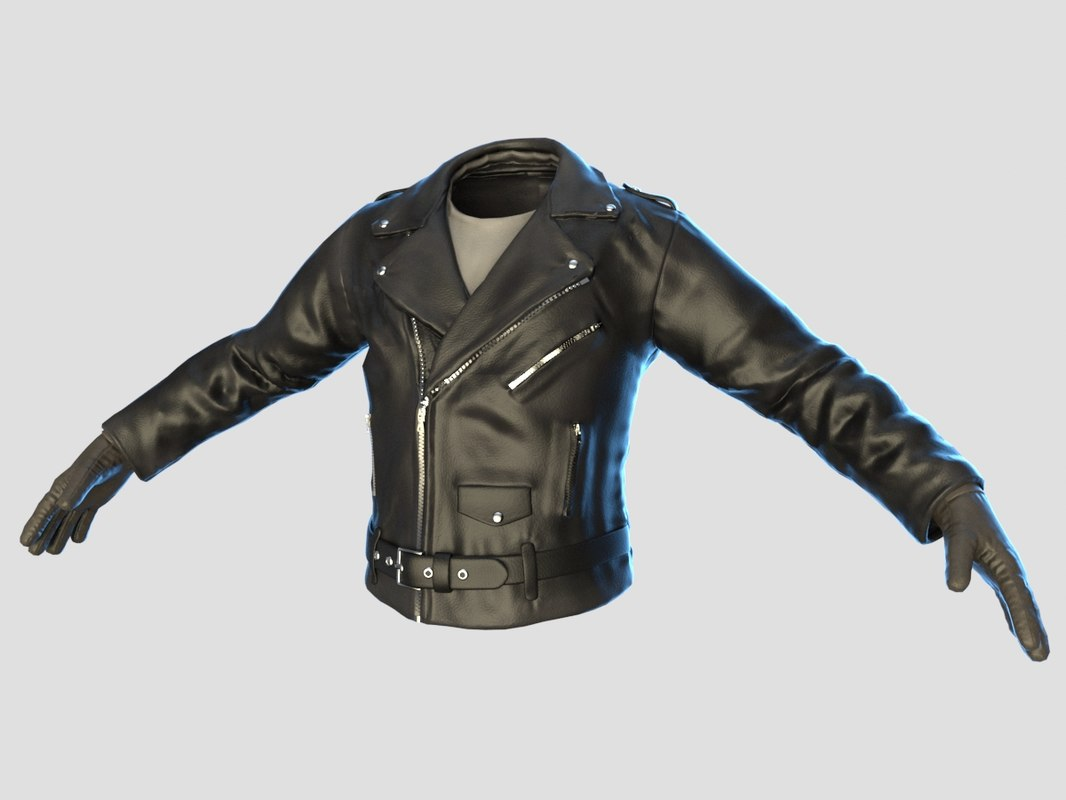 leather jacket 3D