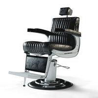3D barbershop armchair