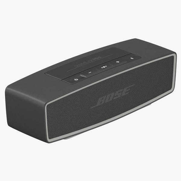 bose bluetooth speaker 02 3D model