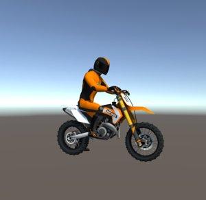 dirt bikes 3D model