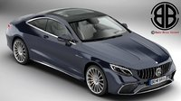 3D model mercedes s class coupe