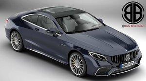 3D model mercedes s class coupe