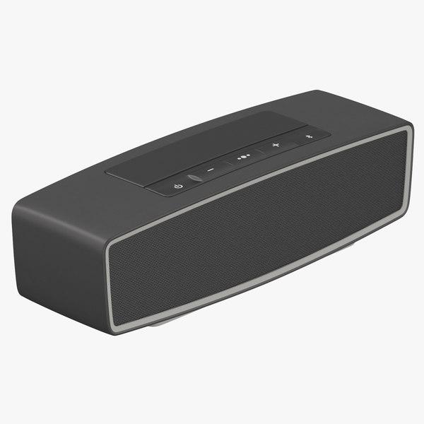 3D bluetooth speaker 02 model