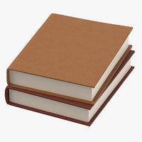 Console Table Decor Set 02 Books