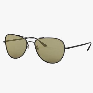 3D eyeglass optic eyewear model