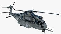 Military Helicopter MH-53E Sea Dragon