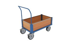 sided box cart model