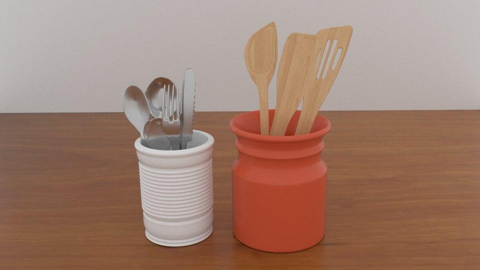 diningware utensil 3D model