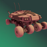 buggy future planet 3D