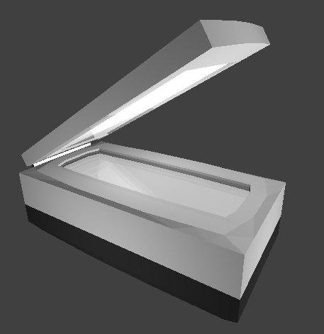 usb image scanner 3D model