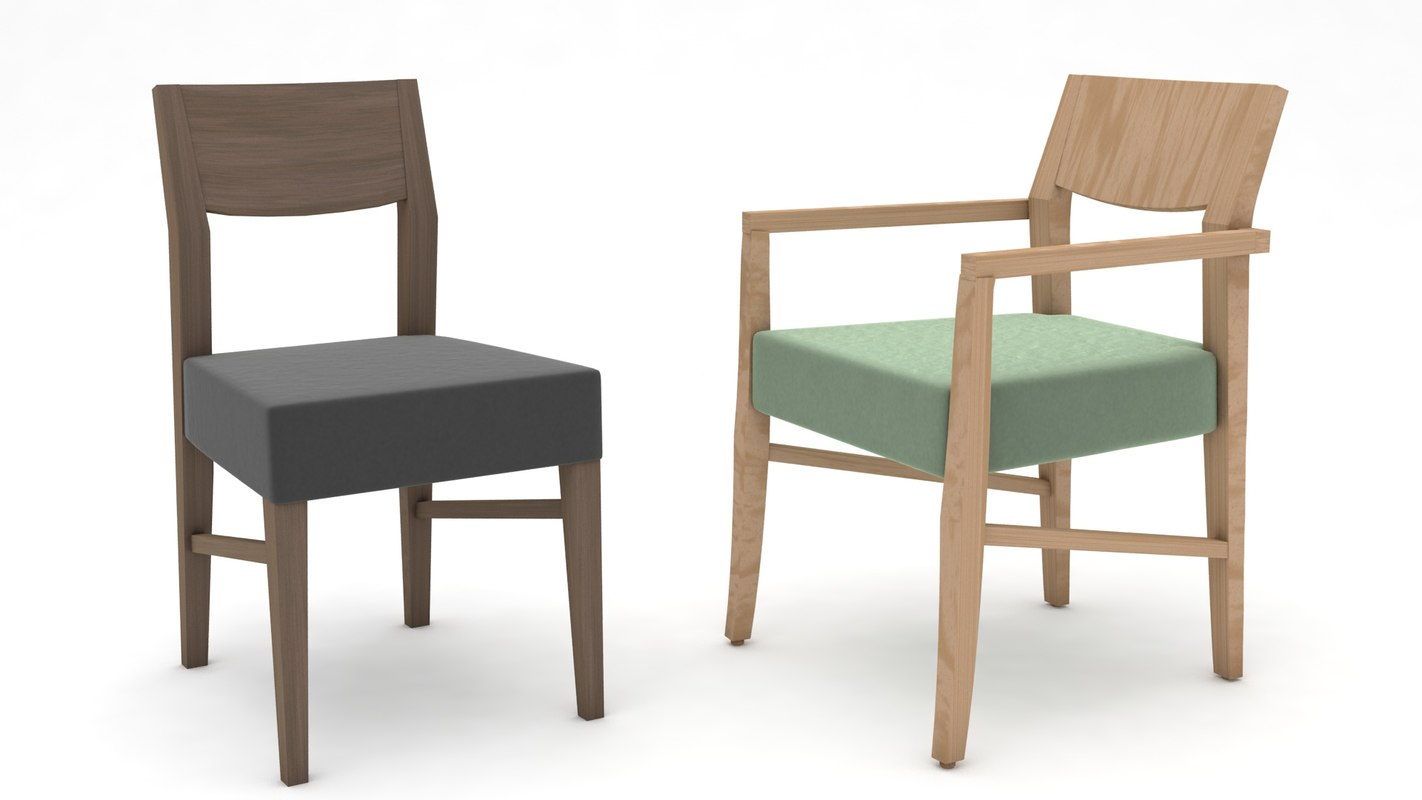 chair couch 3D