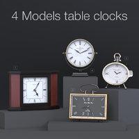 4 table clocks model