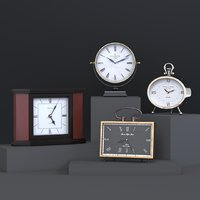 4 table clocks model