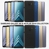 Samsung Galaxy A6 & A6 Plus 2018 Collection