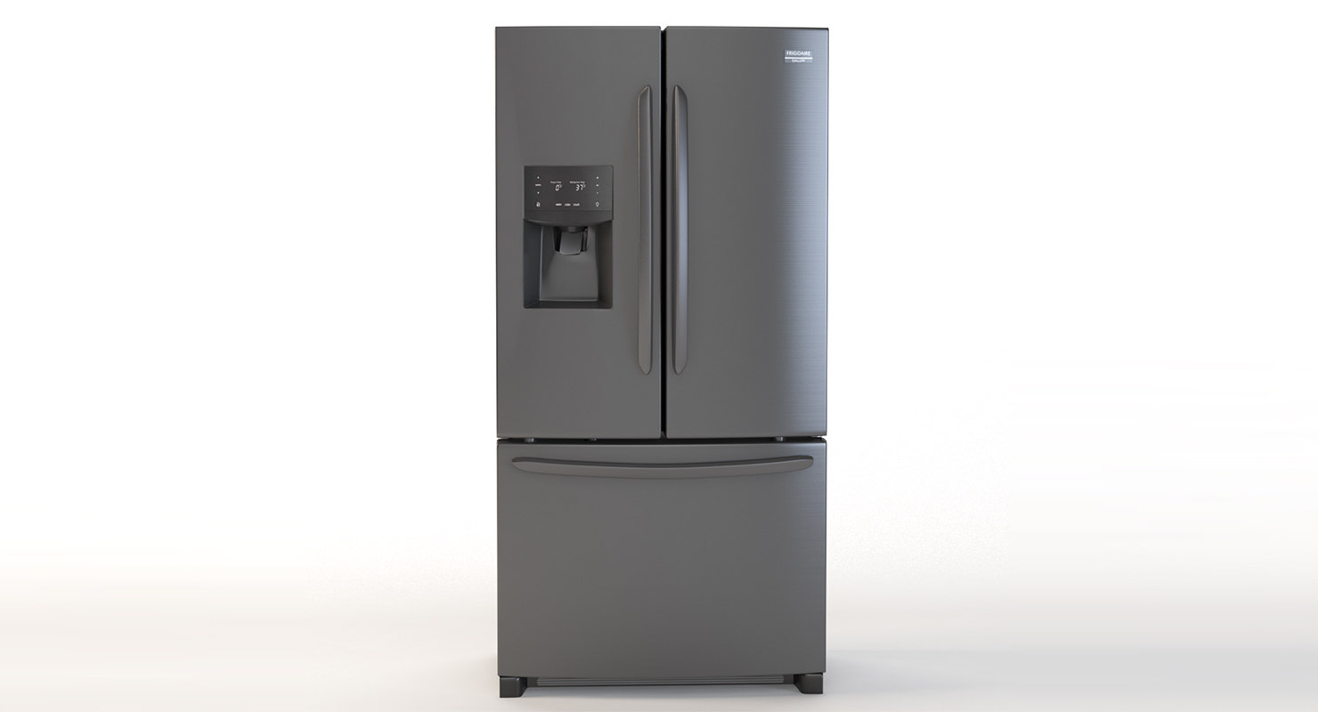 fridge 3D model
