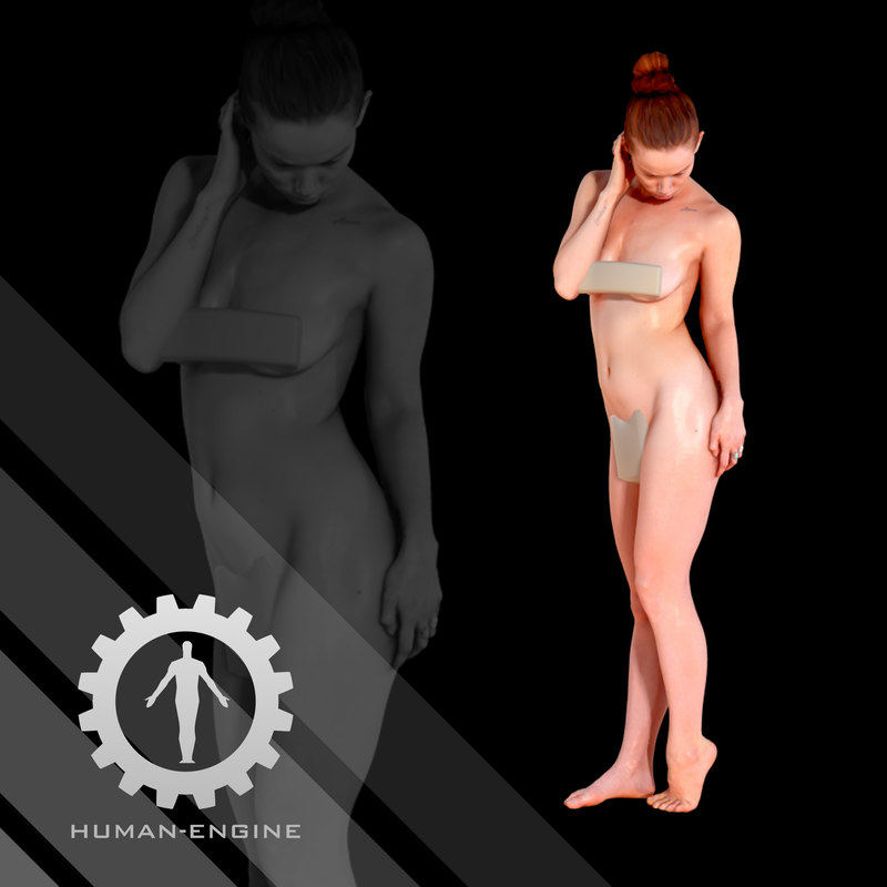 - scanning character model