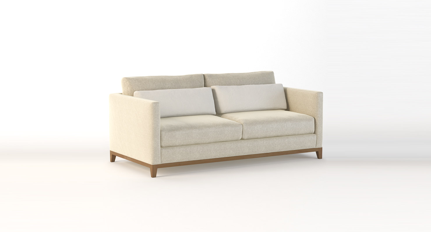 seating cb2 3D model