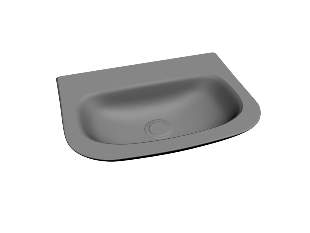 3D model basin