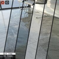 tile stone set 13 3D model