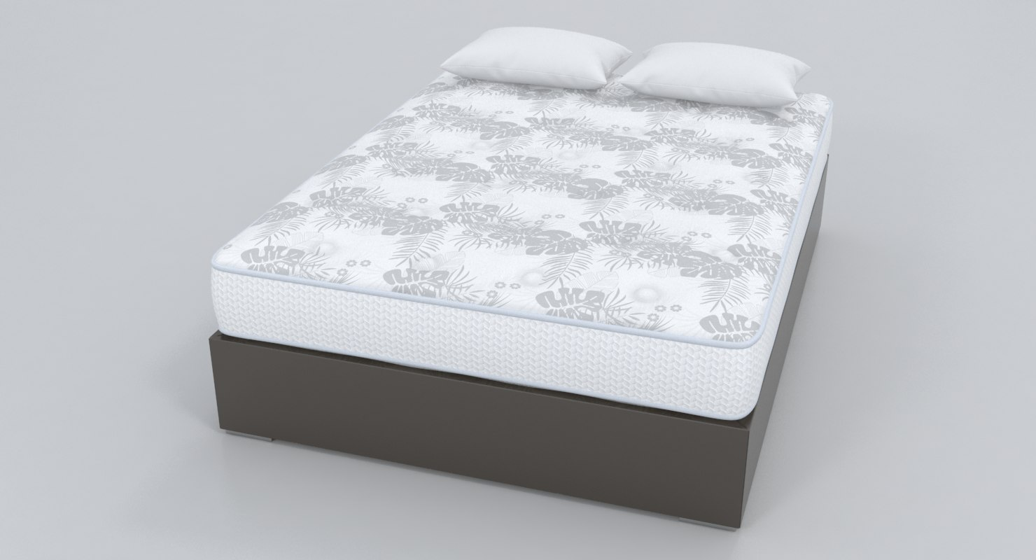 3D bare mattress base
