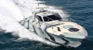 commander c40 boat 3D model
