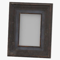 Console Table Decor Set 02 Picture Frame