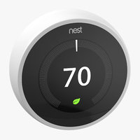 Nest Smart Thermostat - On