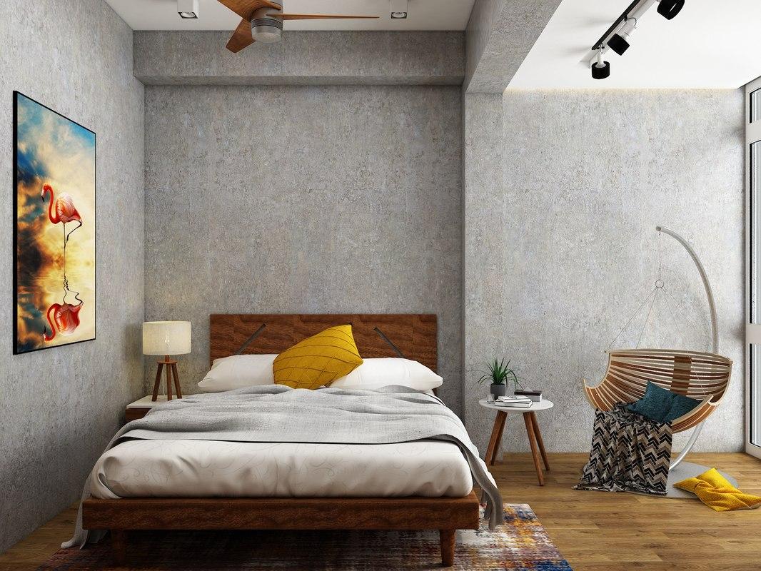 bedroom v4 3D