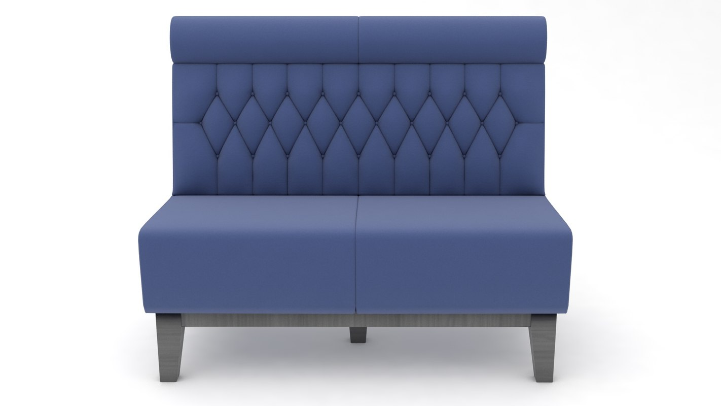 3D couch sofas settee