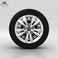 3D model hyundai wheel