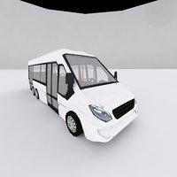 min bus 3D model