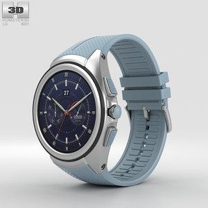 3D model lg urbane watch