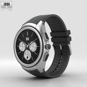 lg urbane watch 3D model