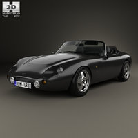 3D tvr griffith 1991 model