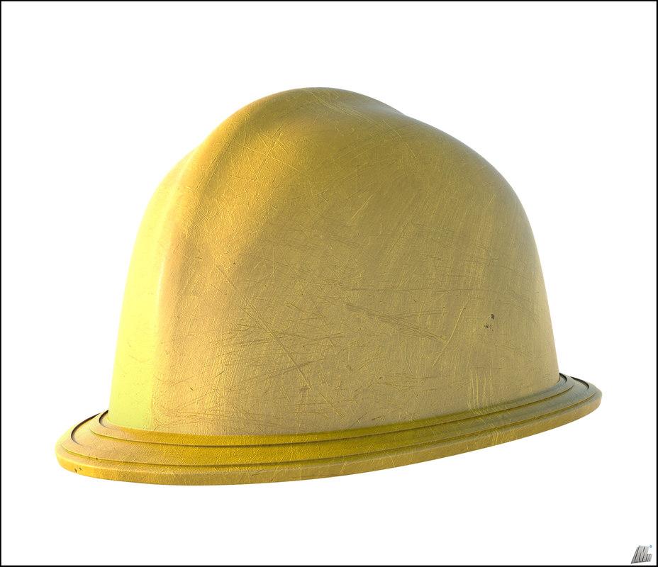 helmet construction 3D model