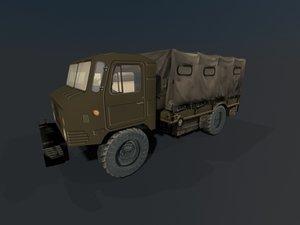 soviet gaz 66 3D model