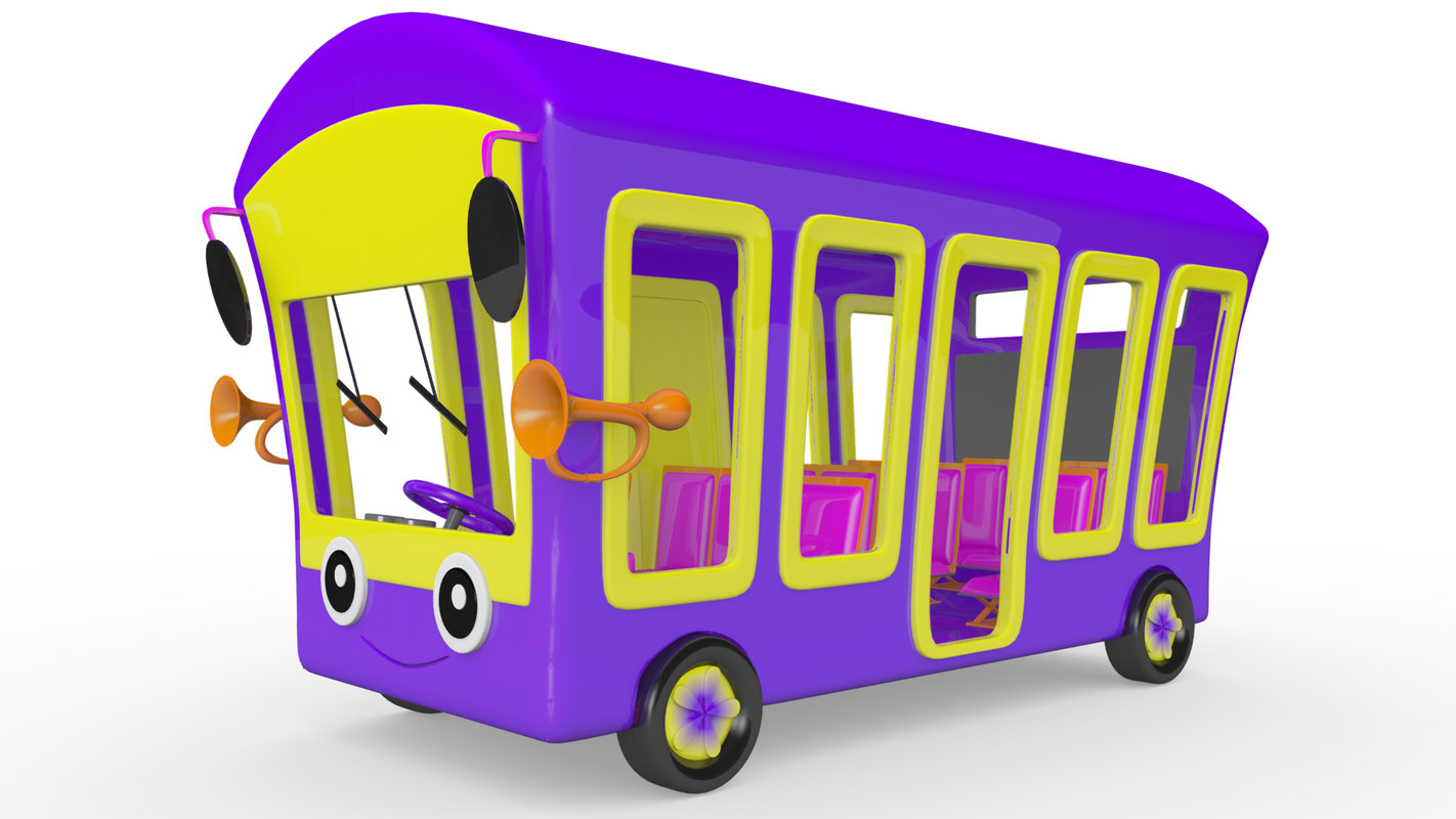 cartoon bus model