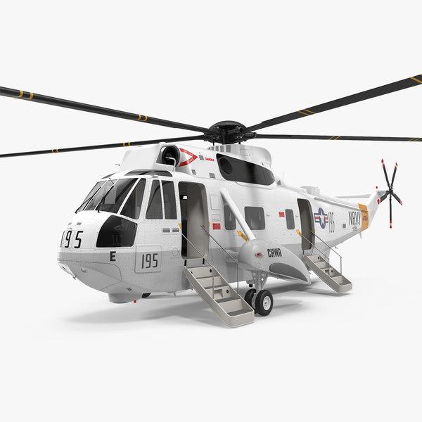 sikorsky sh-3h sea king 3D model