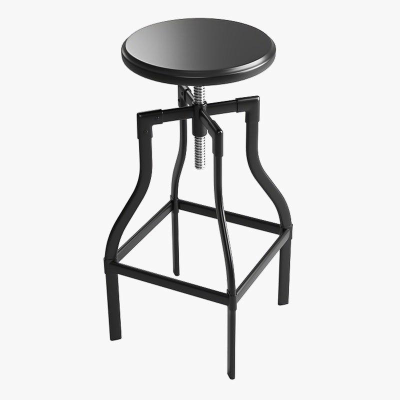 3D bar stool 2