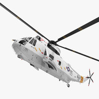 3D sikorsky sh-3h sea king
