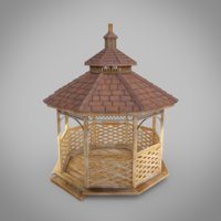 structure architecture shelter 3D model