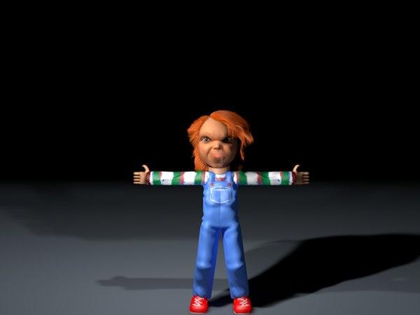 childs play chucky 3D model