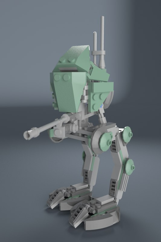 at-rt walker star wars model