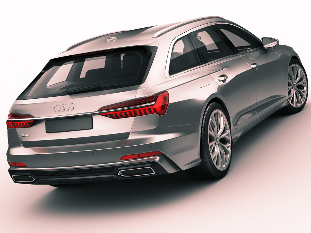 3d Model Audi A6 Avant Turbosquid 1283386